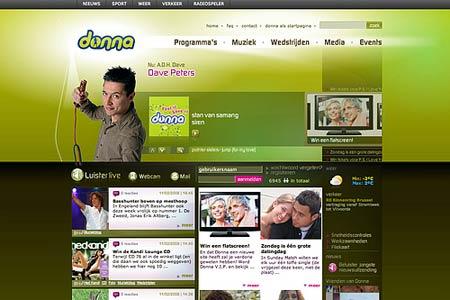 Сайт радиостанции на Drupal